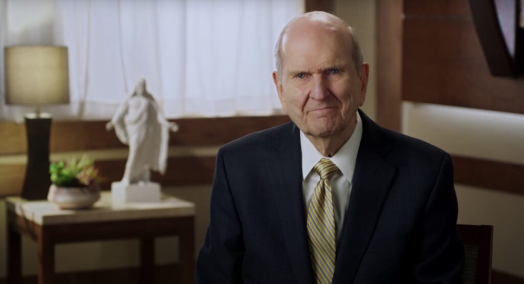 President Nelson shares message of hope during COVID-19 in a video shared on May 6, 2020. He said Church leaders will continue to monitor current situations and proceed with caution.
