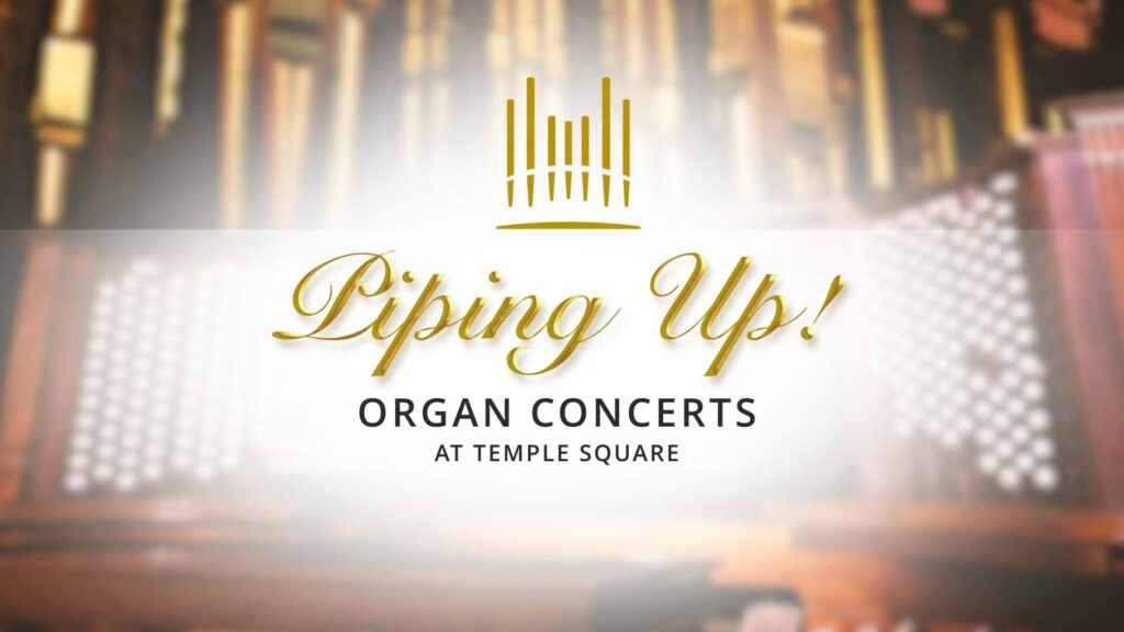 The Tabernacle Choir at Temple Square will begin a livestream organ recital series from the Salt Lake Tabernacle on Temple Square starting June 17.