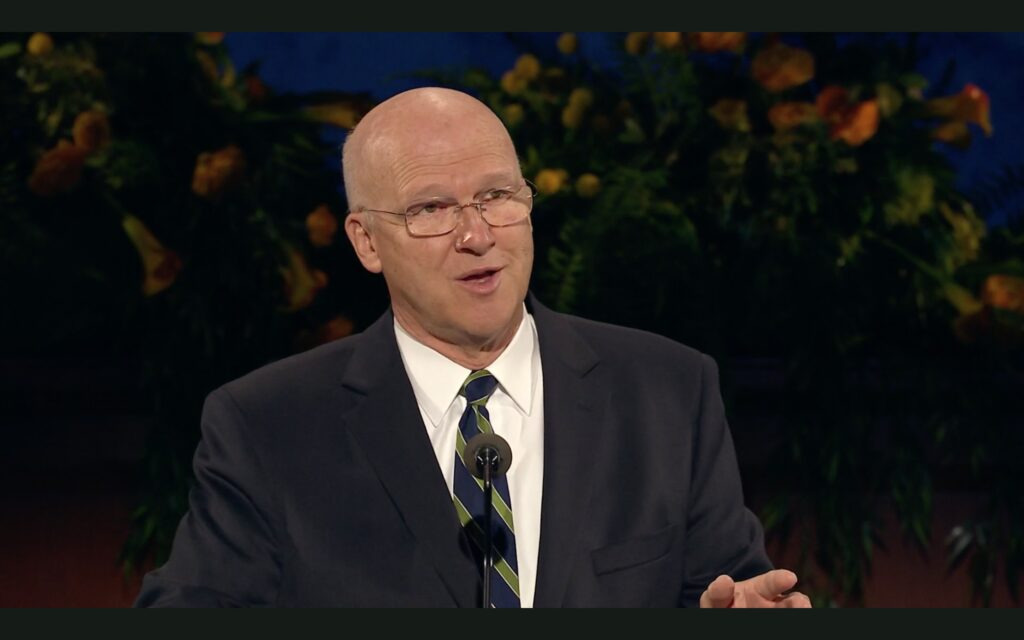"""Elder Weatherford T. Clayton, a General Authority Seventy, testified of Christ and spoke of ways to """"Hear Him"""" in a livestream devotional for BYU–Idaho students on June 2, 2020."""