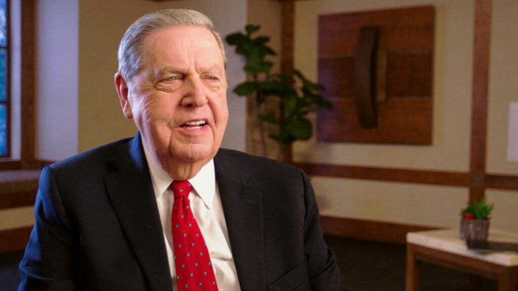 Elder Jeffrey R. Holland of the Quorum of the Twelve Apostles shares a video message about seminary and institute with youth and young adults on Aug. 23, 2020.