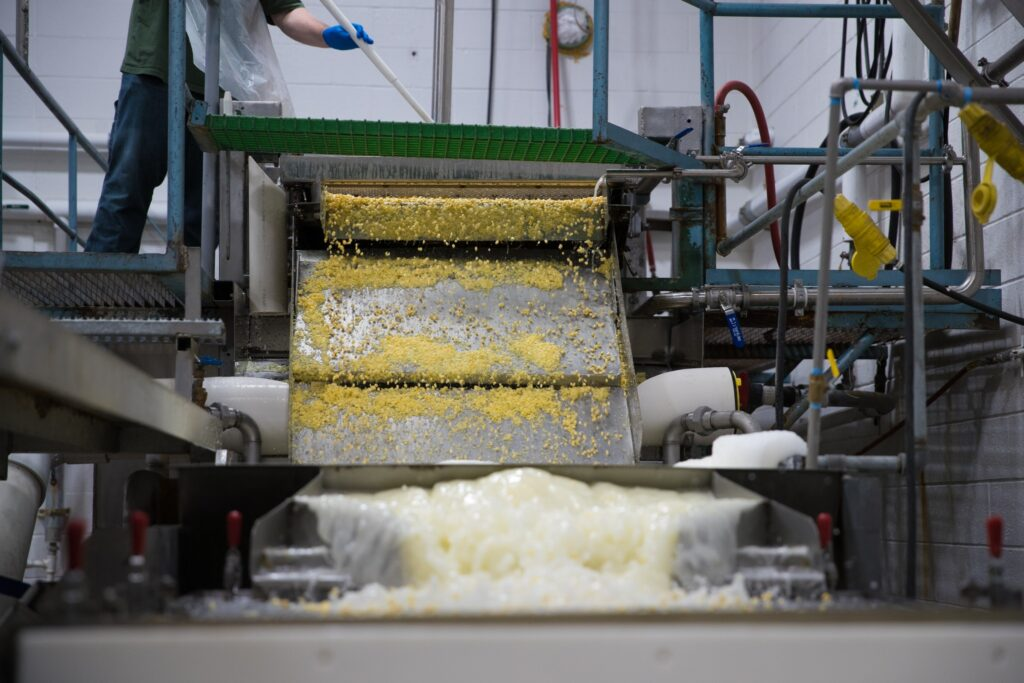 Corn is washed at the Murray Utah Cannery, Friday, August 14, 2020.
