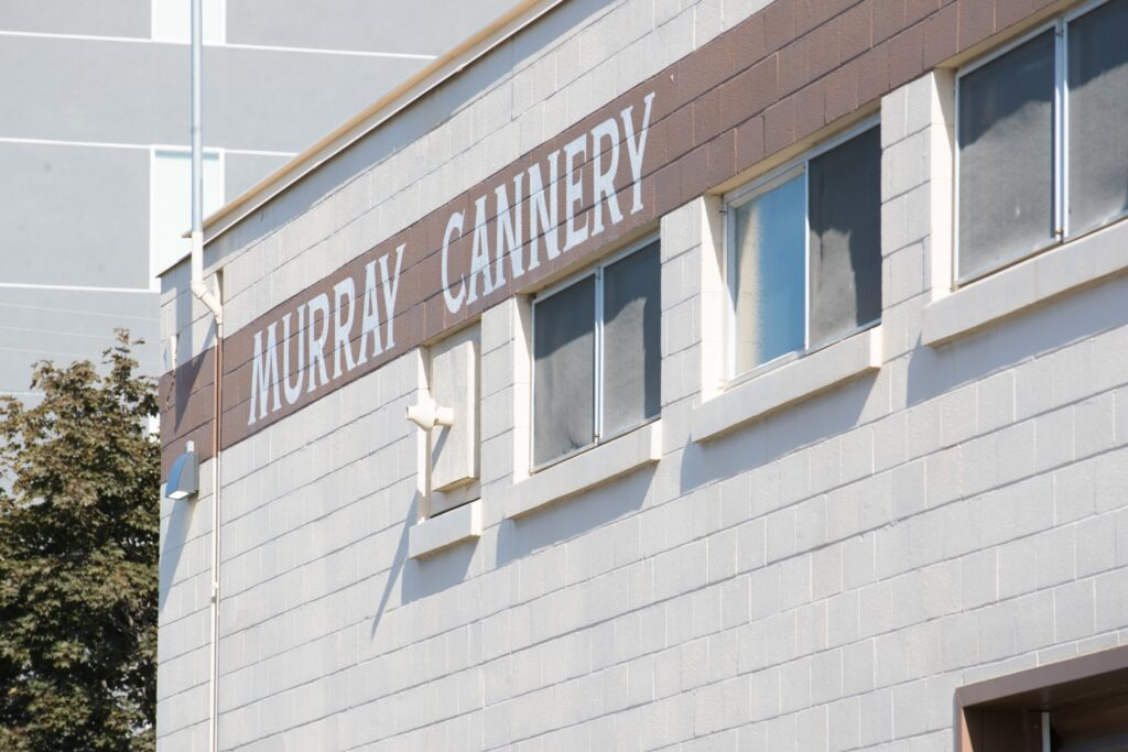 The Murray Utah Cannery building in Murray, Utah, Friday, August 14, 2020.