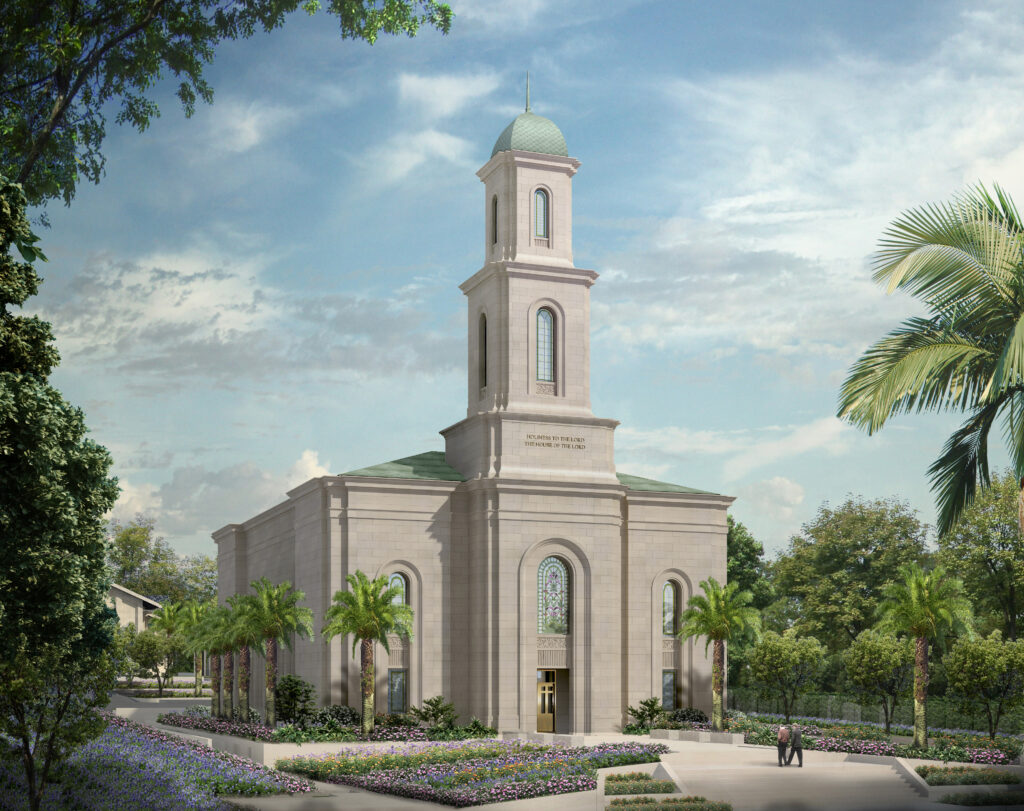 Rendering of the Davao Philippines Temple