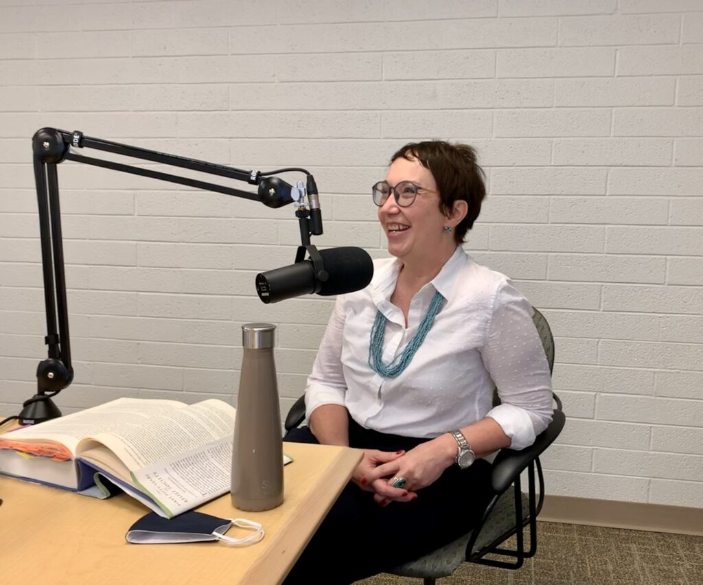 Church historian Jenny Reeder sits for an interview for the Latter-day Saint Women podcast to discuss Eliza Snow and the recent publication of her discourses.