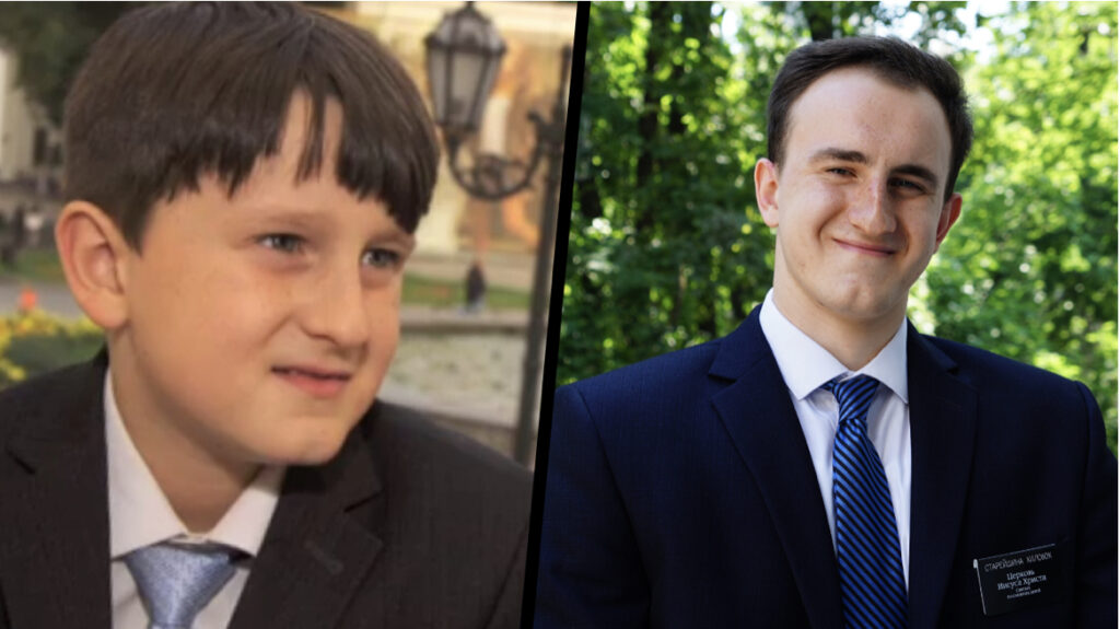 In a Facebook video in September 2020, Elder Danil Khilobok serving in the Ukraine Dnipro Mission shares about being invited by President Monson to put mortar on the cornerstone of the Kyiv Ukraine Temple as a little boy.