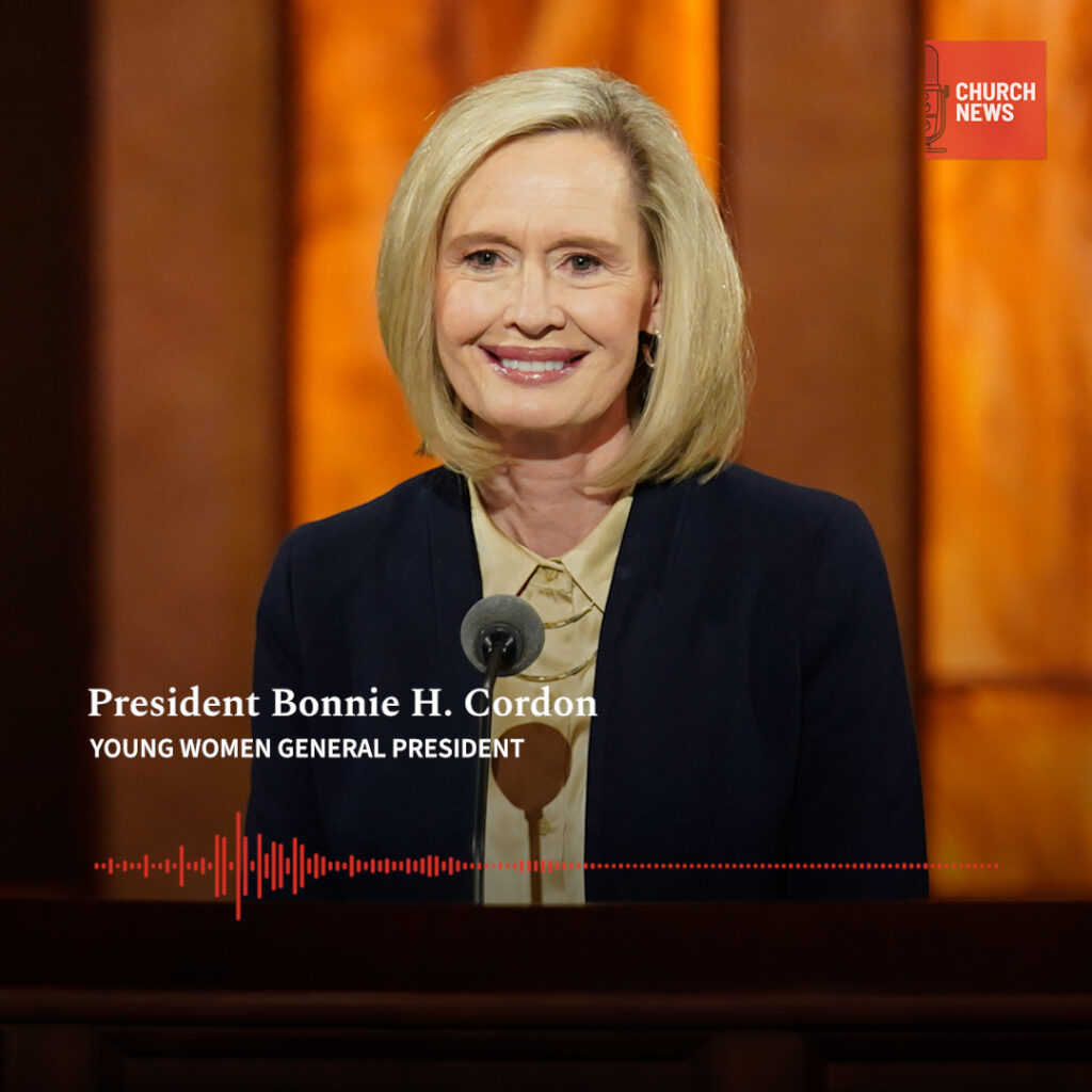 In the fourth episode of the Church News podcast, Sarah Jane Weaver interviews President Bonnie H. Cordon about the 150-year legacy of Young Women.