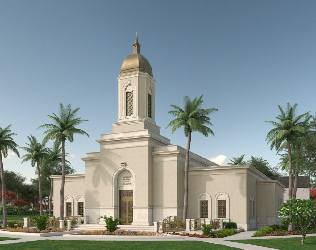 Artist's rendering of the future Cobán Guatemala Temple.