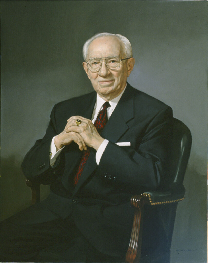 President Gordon B. Hinckley served as President of the Church from 1995-2008.