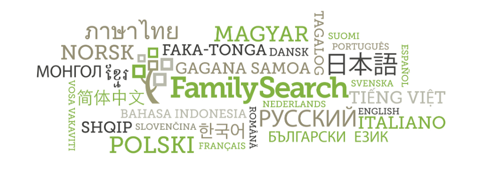 FamilySearch — the world's largest genealogical service — is now available to anyone in 30 total languages.