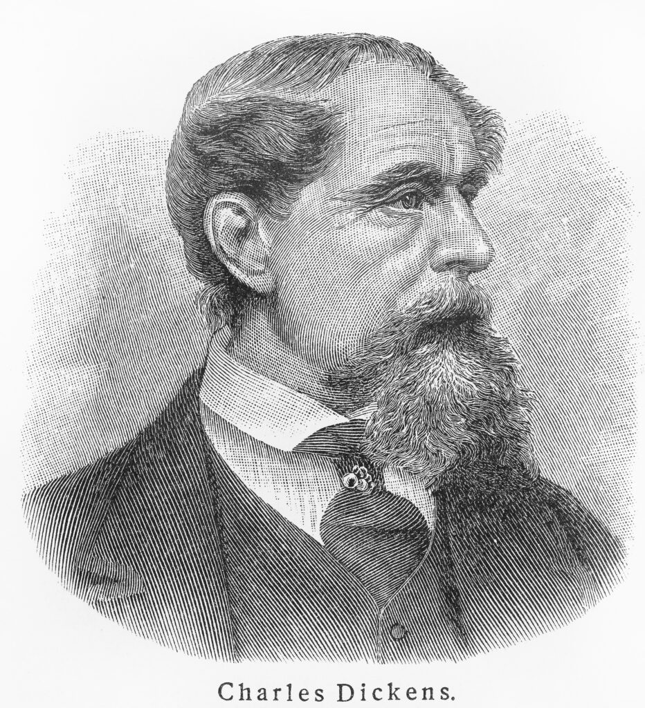 """Charles Dickens is the author of """"Great Expectations."""""""