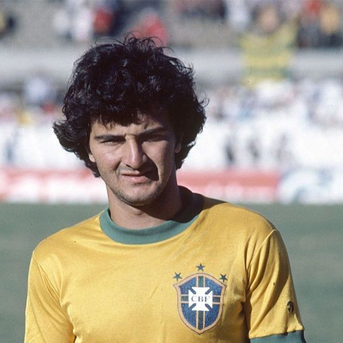 Tita played in 32 international matches for the national Brazil team between 1979 and 1990 and scored six goals. He will speak at RootsTech Connect Feb. 25-27, 2021.