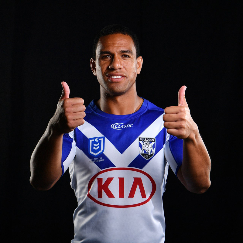 Will Hopoate began playing for the National Rugby League when he was 18 years old. He currently plays for the Canterbury-Bankstown Bulldogs as a fullback.