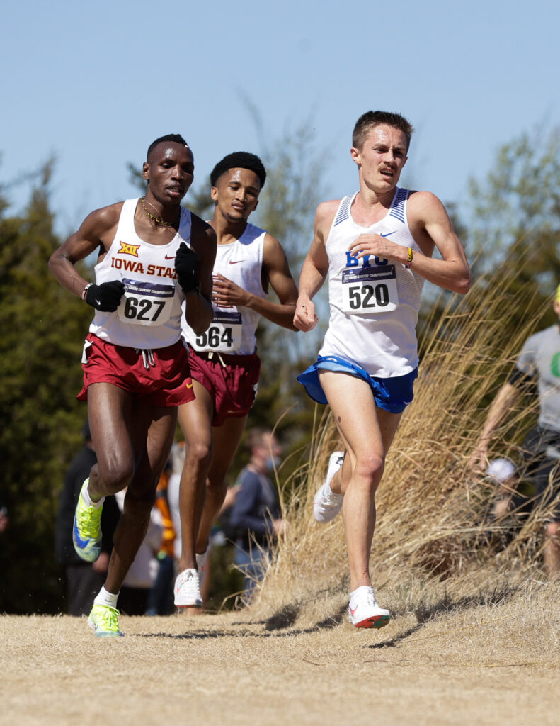 Connor Mantz won the NCAA Men's Cross Country Championships in Stillwater, Oklahoma.