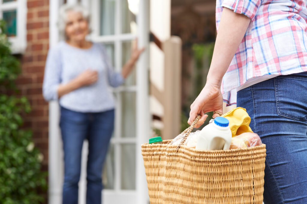 Things such as dropping off groceries, checking in on a neighbor or sharing some uplifting words are free, easy and require no training and can help reduce feelings of loneliness.