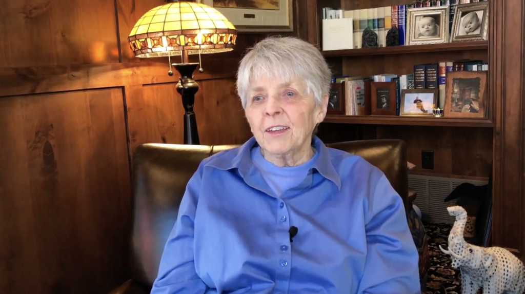 Sister Mary Ellen Edmunds reflects on a life of service.