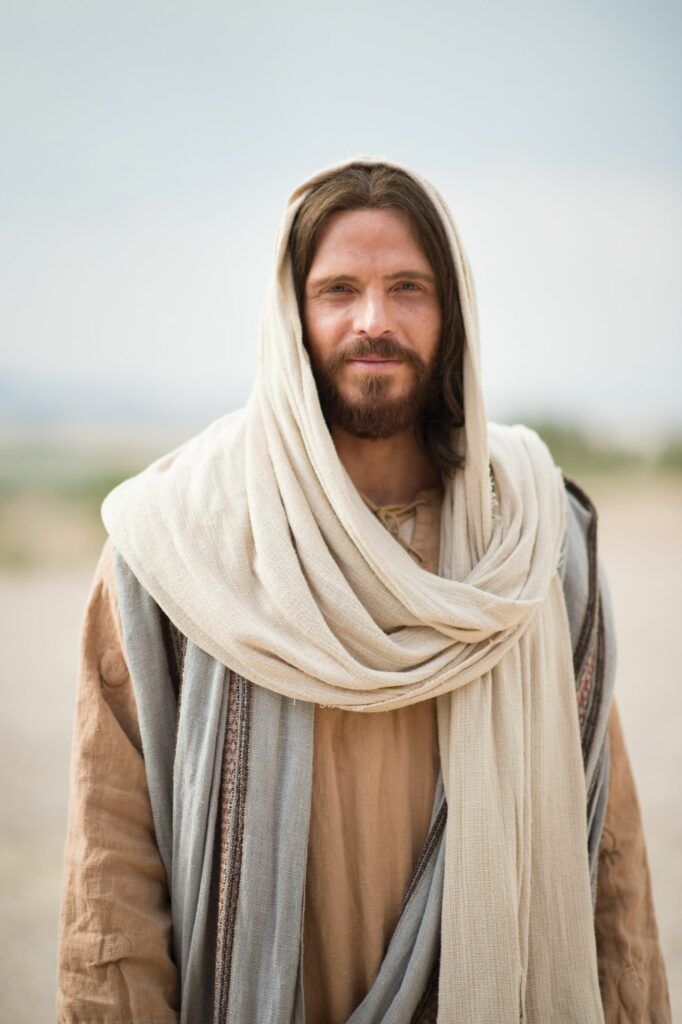 Jesus Christ is depicted in scene in Bible videos published by The Church of Jesus Christ of Latter-day Saints. Elder Jeffrey R. Holland of the Quorum of the Twelve Apostles told students at Utah State University on April 23, 2021, that perfect leadership is exemplified by the Savior Jesus Christ.