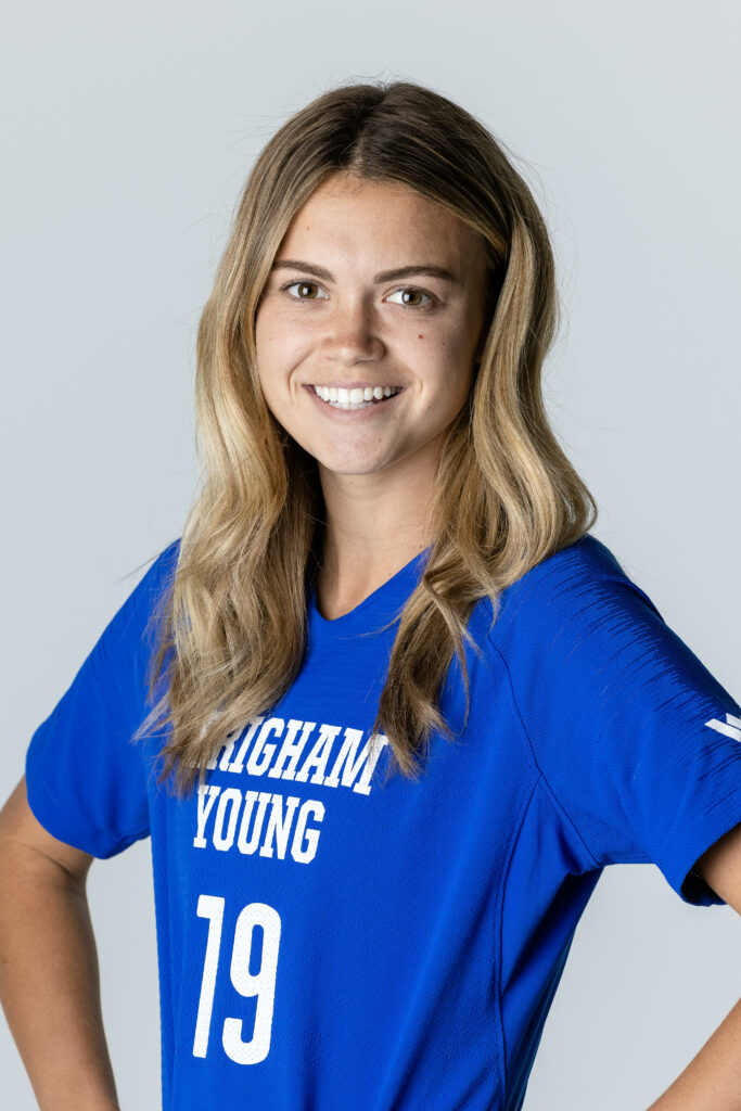 BYU soccer player Natalie Clark Ball's lifelong love for animals has formed her educational and professional pursuits. She will be an intern at the Memphis Zoo, working with big cats and other large animals.
