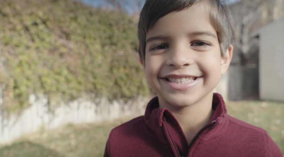 """A child shares how he feels about the Savior in the new Church video """"I Feel My Savior's Love"""" released May 13, 2021."""