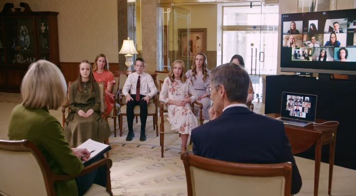 In an April 2021 training video, Young Women General President Bonnie H. Cordon and Young Men General President Steven J. Lund ask youth about their experiences of loving others and sharing the gospel.