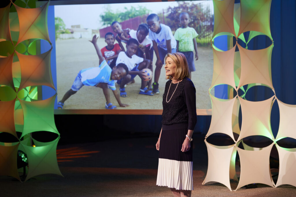 """Primary General President Camille N. Johnson participates in a presentation, titled """"Supporting Children and Youth: A Broadcast for Parents and Leaders,"""" which was broadcast on Sunday, June 6, 2021."""