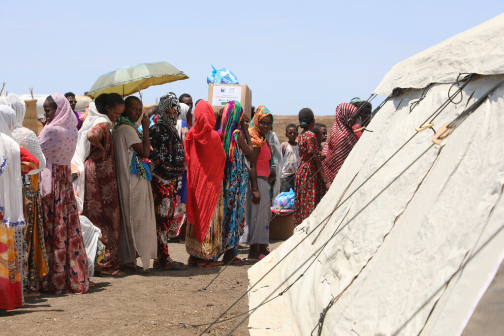 Latter-day Saint Charities and Rahma Worldwide provide relief to refugees in Sudan.