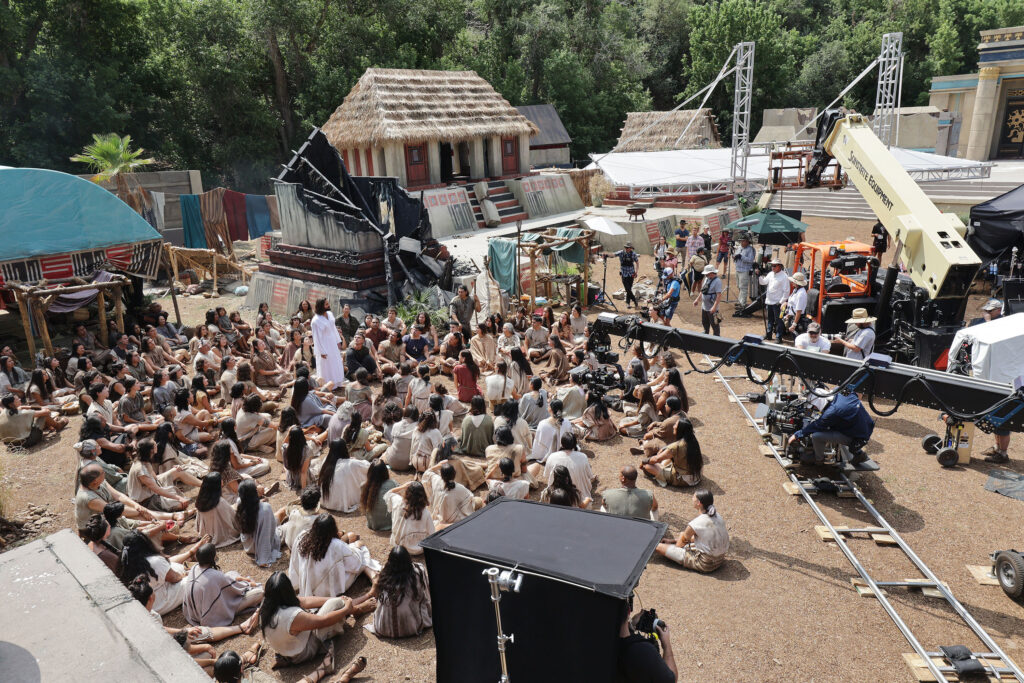 The Church of Jesus Christ of Latter-day Saints' production of the fourth season of Book of Mormon Videos is filmed near Springville, Utah, on Monday, July 26, 2021.
