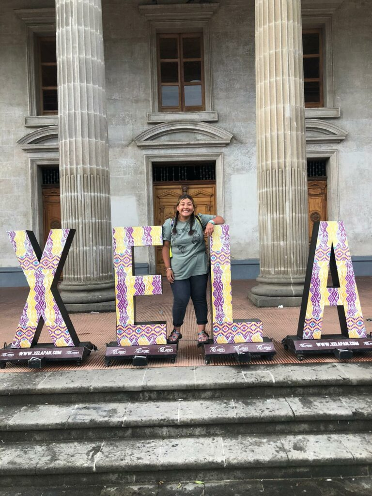 """Shayla Dunn, a 17-year-old from East Idaho, participated in humanitarian building project in Quetzaltenango, Guatemala, in June 2021. The indigenous name of the city is """"Xela"""" — pronounced like Shayla. The Latter-day Saint teen was born in Guatemala before being adopted by an Idaho family."""