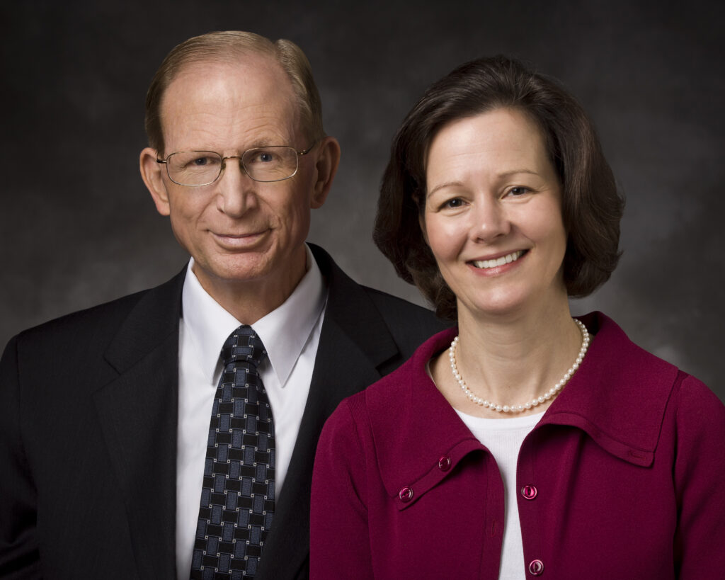 Elder Bruce D. and Sister Susan H. Porter pose for a photo in 2011. Elder Porter died in December 2016. Sister Porter was called as first counselor in the Primary general presidency in April 2021.