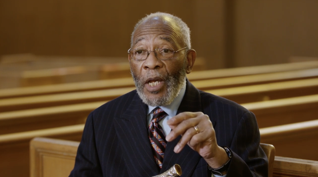 The Rev. Amos C. Brown of the Third Baptist Church of San Francisco, California, and Elder Jack N. Gerard of the Seventy discuss how to overcome prejudice, in a video published in the September 2021 issue of the Liahona.