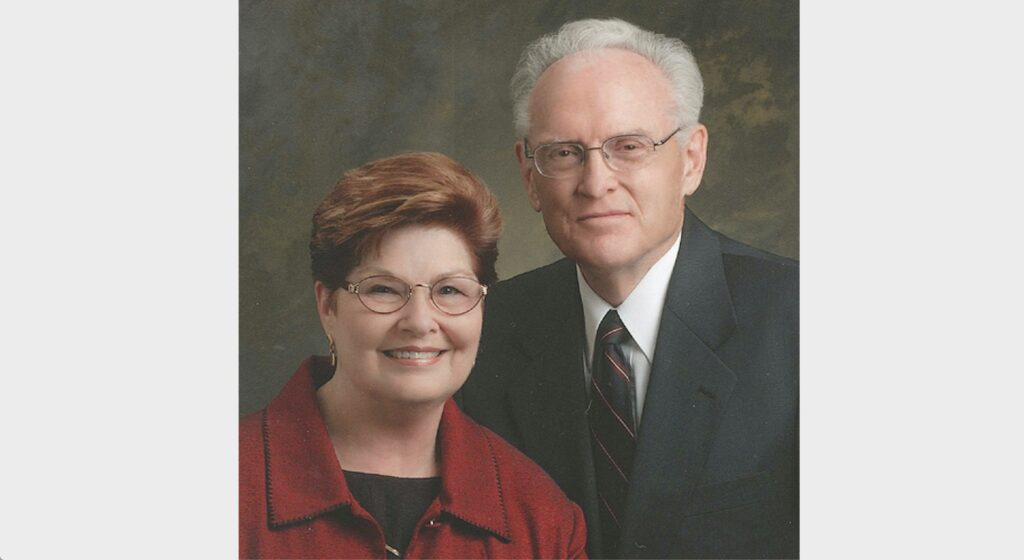 Elder Ted E. Brewerton and his wife, Sister Dorothy Brewerton