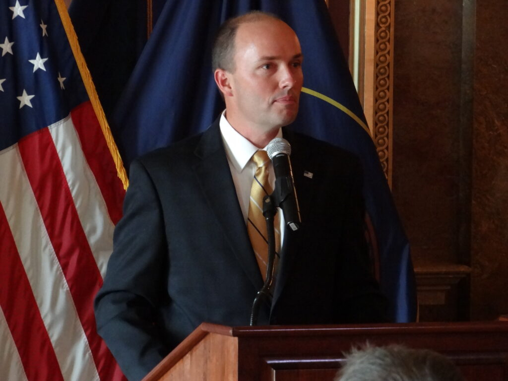Spencer J. Cox was selected by Utah Gov. Gary Herbert to replace Greg Bell as lieutenant governor Tuesday, Oct. 8, 2013.