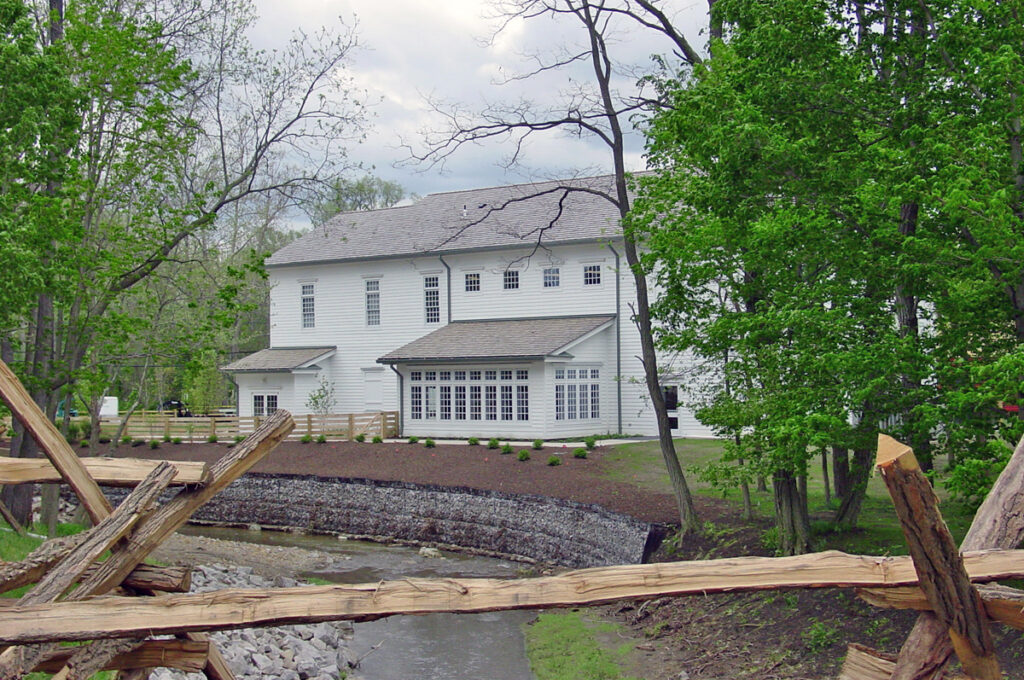 The Kirtland Visitors' Center in historic Kirtland, Ohio, is shown in 2003.