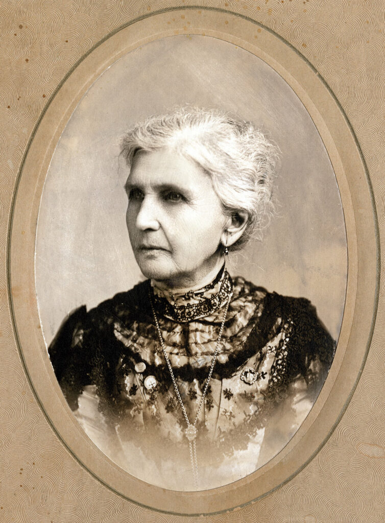 Emmeline B. Wells served as the fifth general Relief Society president of The Church of Jesus Christ of Latter-day saints.