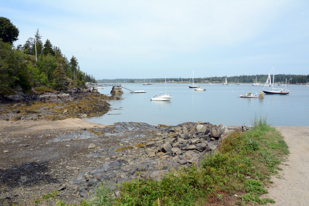 The view from Vinalhaven, an island in the Fox Islands near Rockland, Maine, where Elder Wilford Woodruff stayed as a missionary in 1837-1838.