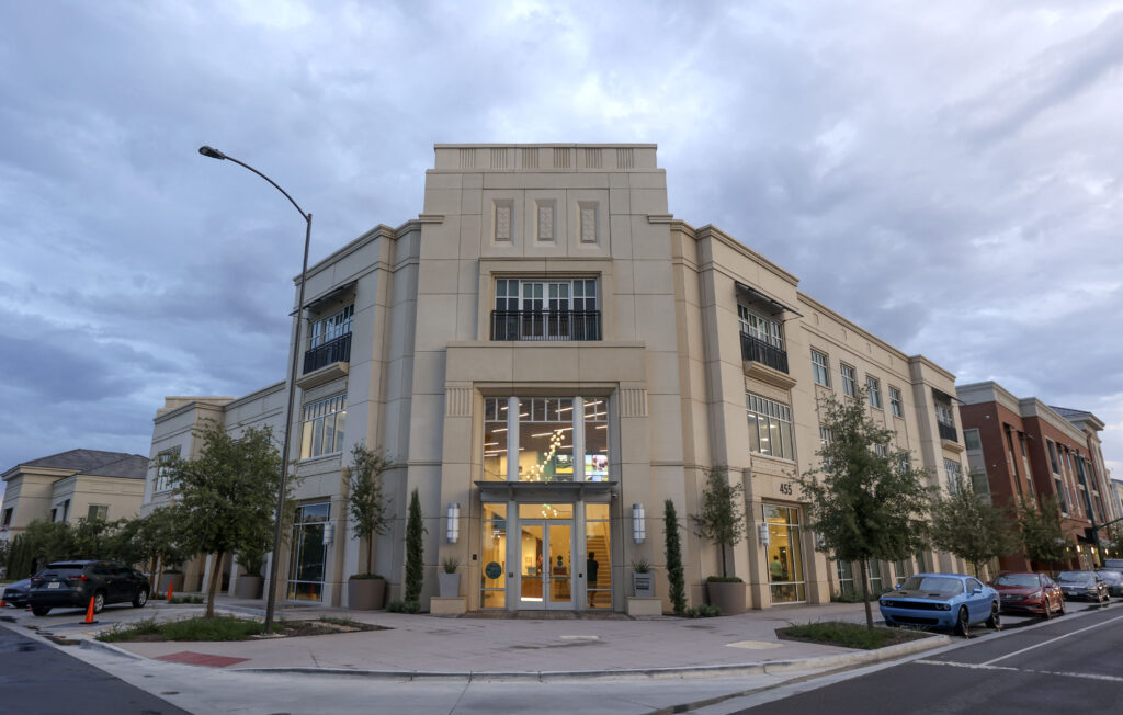 The Mesa Arizona Temple Visitors' Center is pictured in Mesa, Ariz., on Wednesday, Aug. 11, 2021.