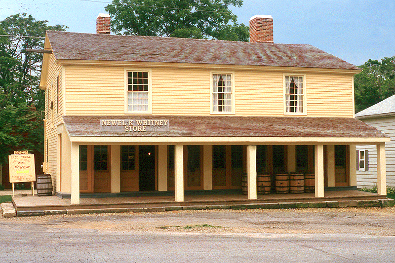 The N.K. Whitney & Co. Store in Kirtland, Ohio, is shown in 1985. Newel K. Whitney built the store in 1826. It later served as a post office, bishop's storehouse and early Church headquarters.