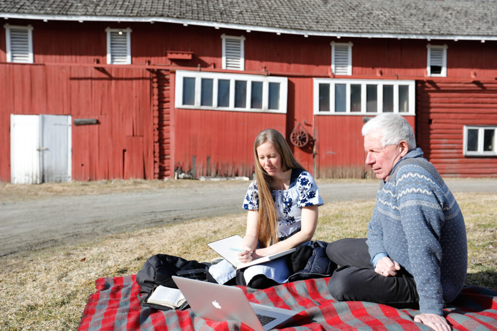 A family in Oslo, Norway, participates in a session of The Church of Jesus Christ of Latter-day Saints' 191st Annual General Conference, broadcast on Saturday, April 3, and Sunday, April 4, 2021.